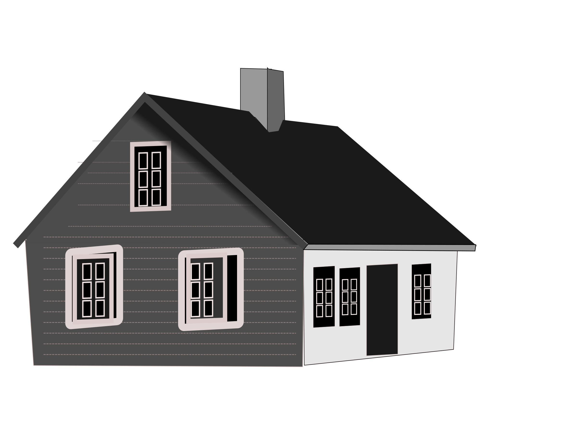 Vector roof rumah. Png house black and