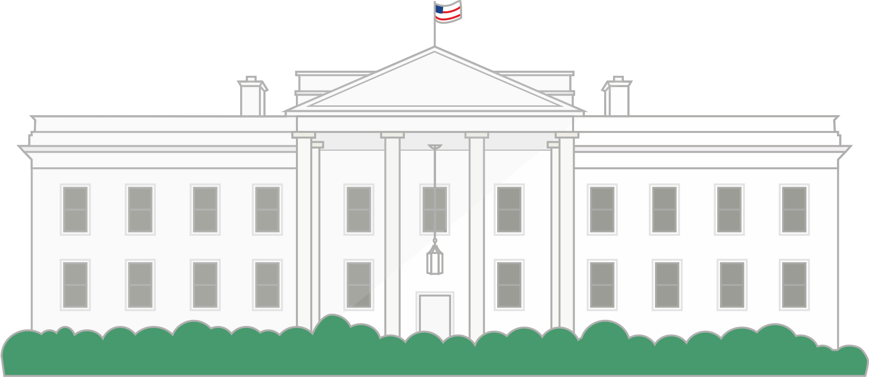 The white house png. Build a wall to
