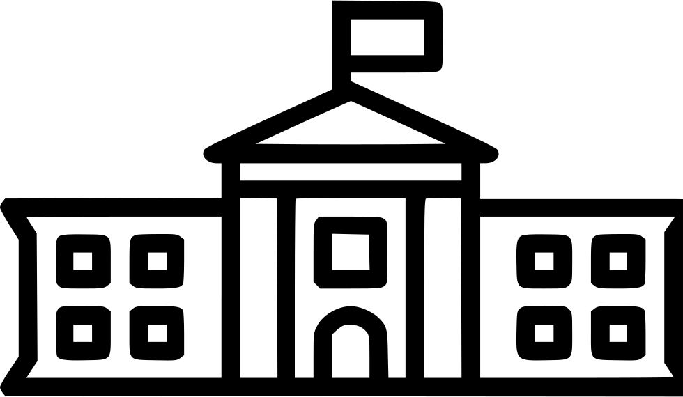 The white house png. Svg icon free download