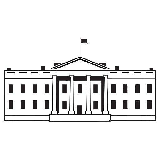 The white house png. President donald trump public