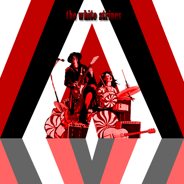 The white stripes png. Id by y joker