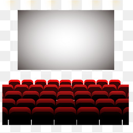 Theater clipart cinema hall. Seat png vectors psd