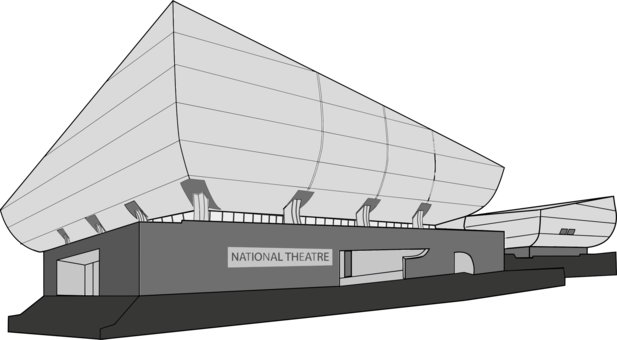 Theater clipart multiplex. Architecture building computer icons