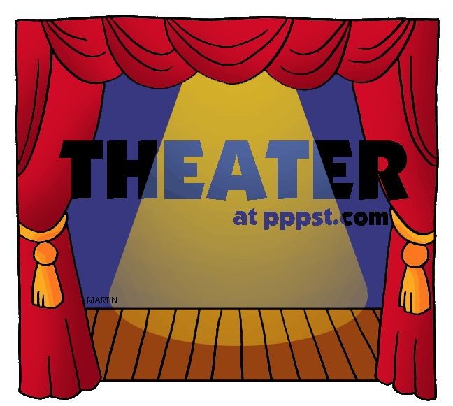 Theater clipart play theatre. Best kids drama