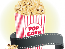 Theater clipart popcorn. Movie panda free images