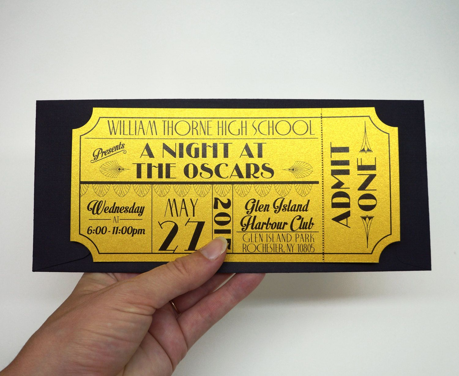 Theater clipart prom ticket. Old hollywood art deco