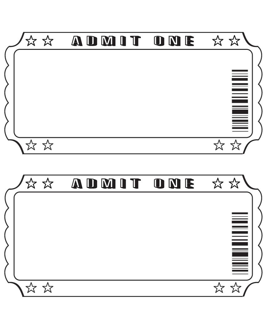 Theater clipart prom ticket. Blank diy and more