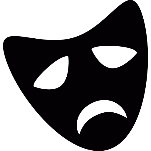Png icon repo free. Theater vector black mask png freeuse download
