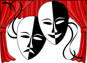 Theatre vector theater. Free dinner cliparts download