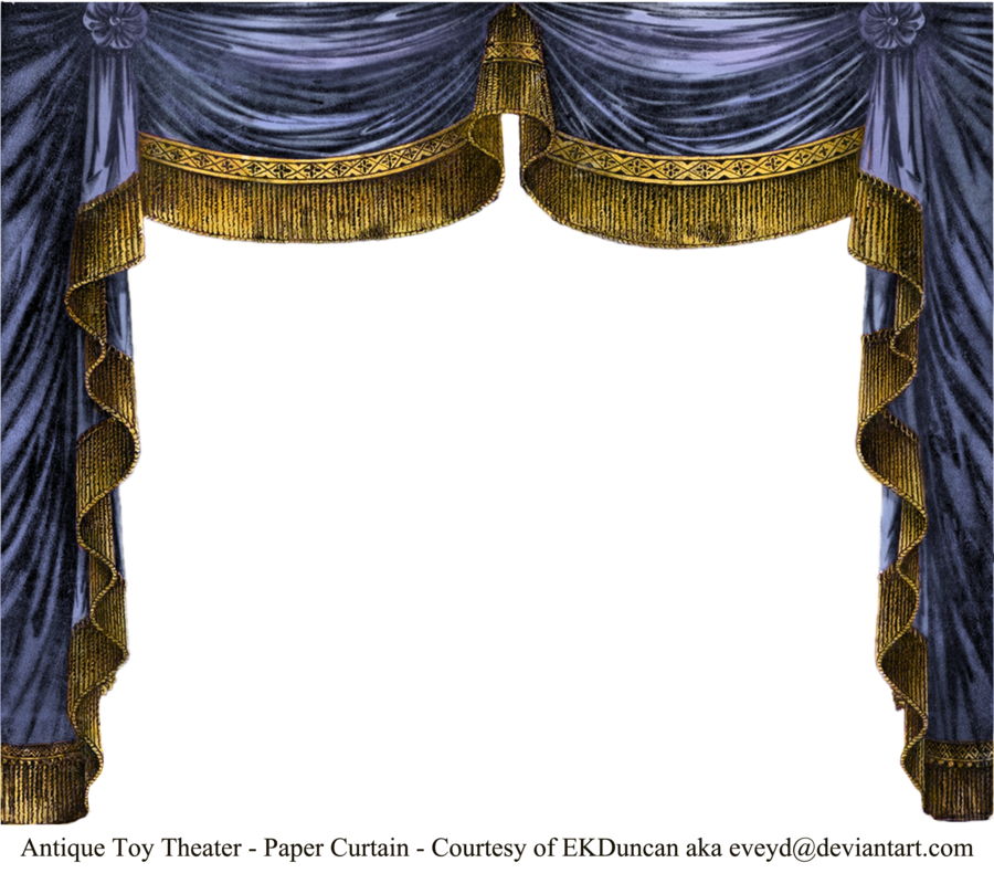 I m a big. Theatre clipart curtain frame banner black and white download
