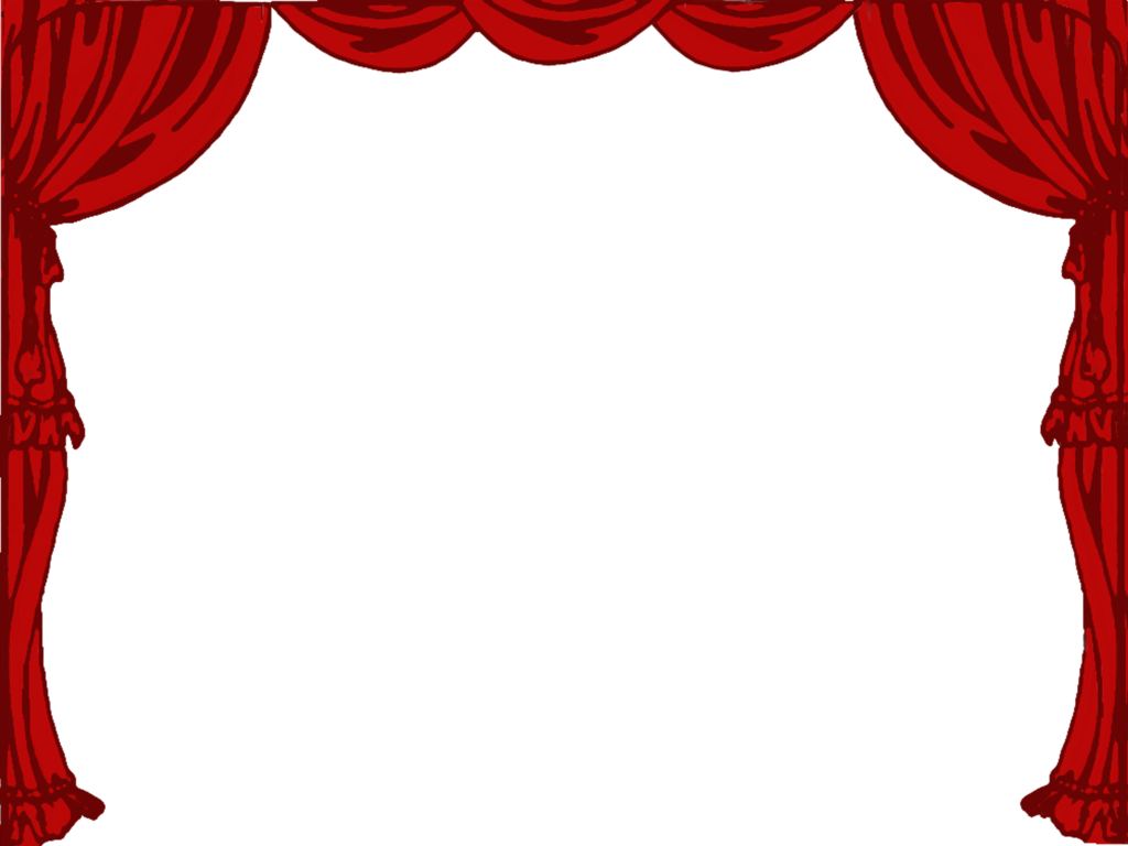 Inspiring design stage theatre. Curtain clipart black and white vector free library