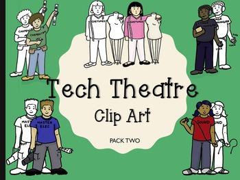 Theatre clipart technical theatre. Clip art people by