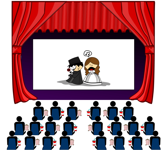Theatre clipart technical theatre. Free play theater cliparts