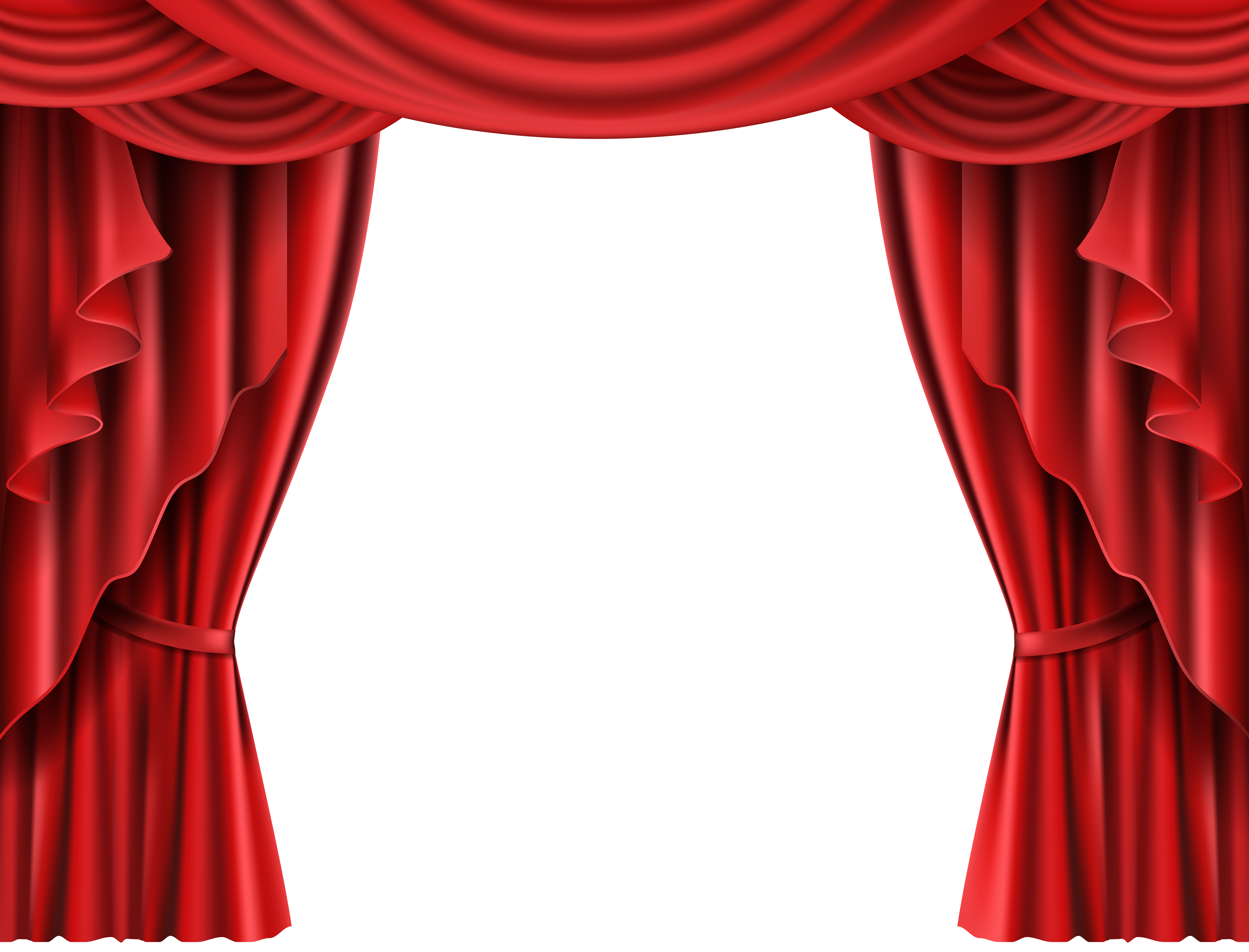 Theatre curtain png. Red theater transparent clip