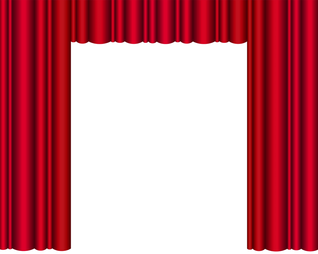 Movie curtain png. Beauty blue stage