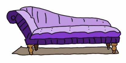 therapist clipart couch