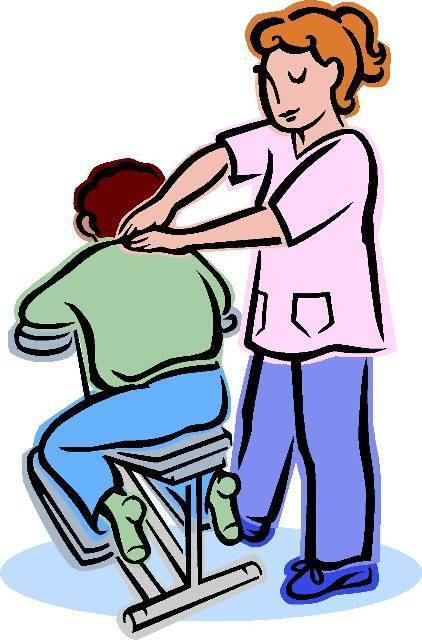 Therapy shoulder massage