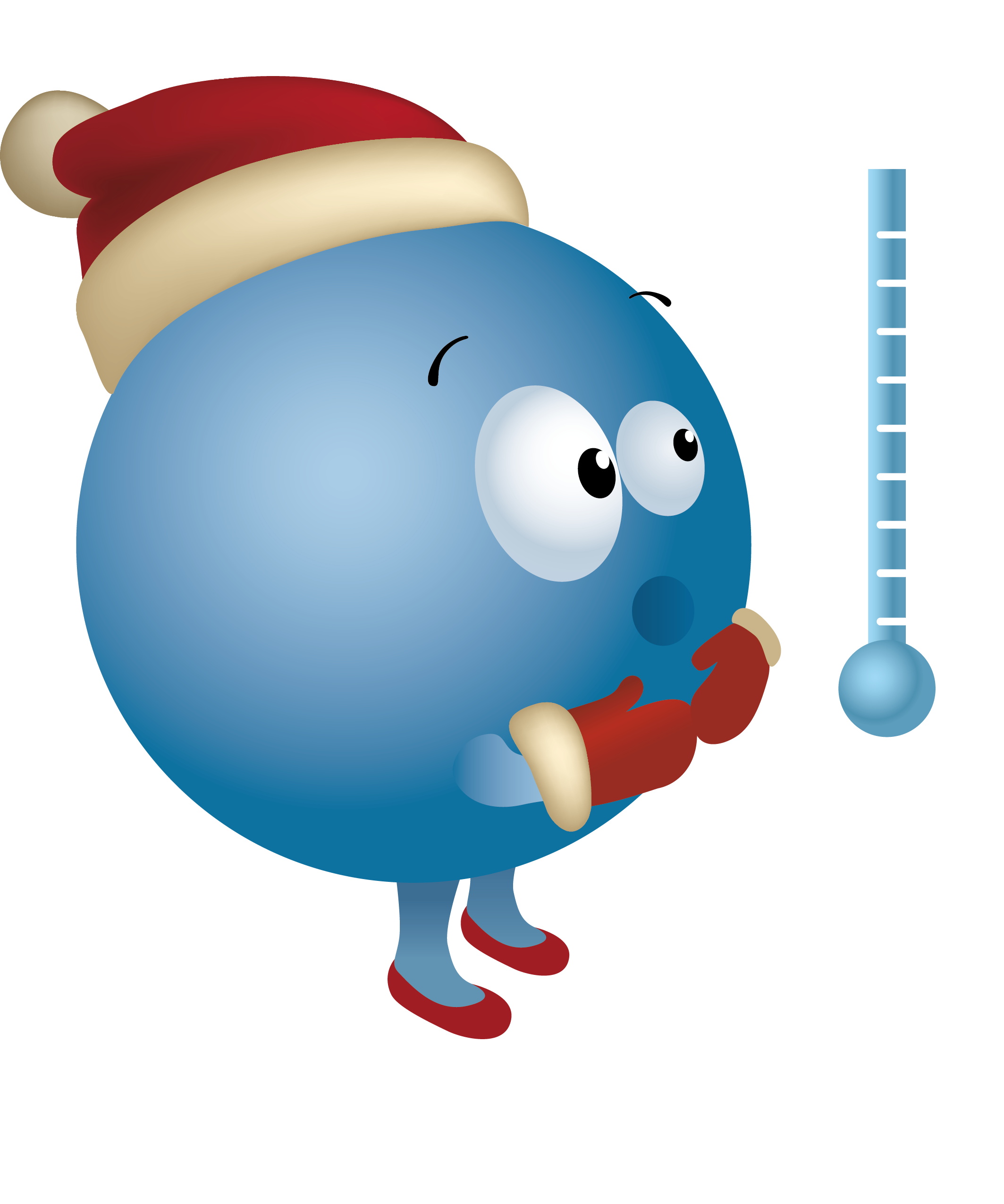 Thermometer cartoon png. Cold clip art planet
