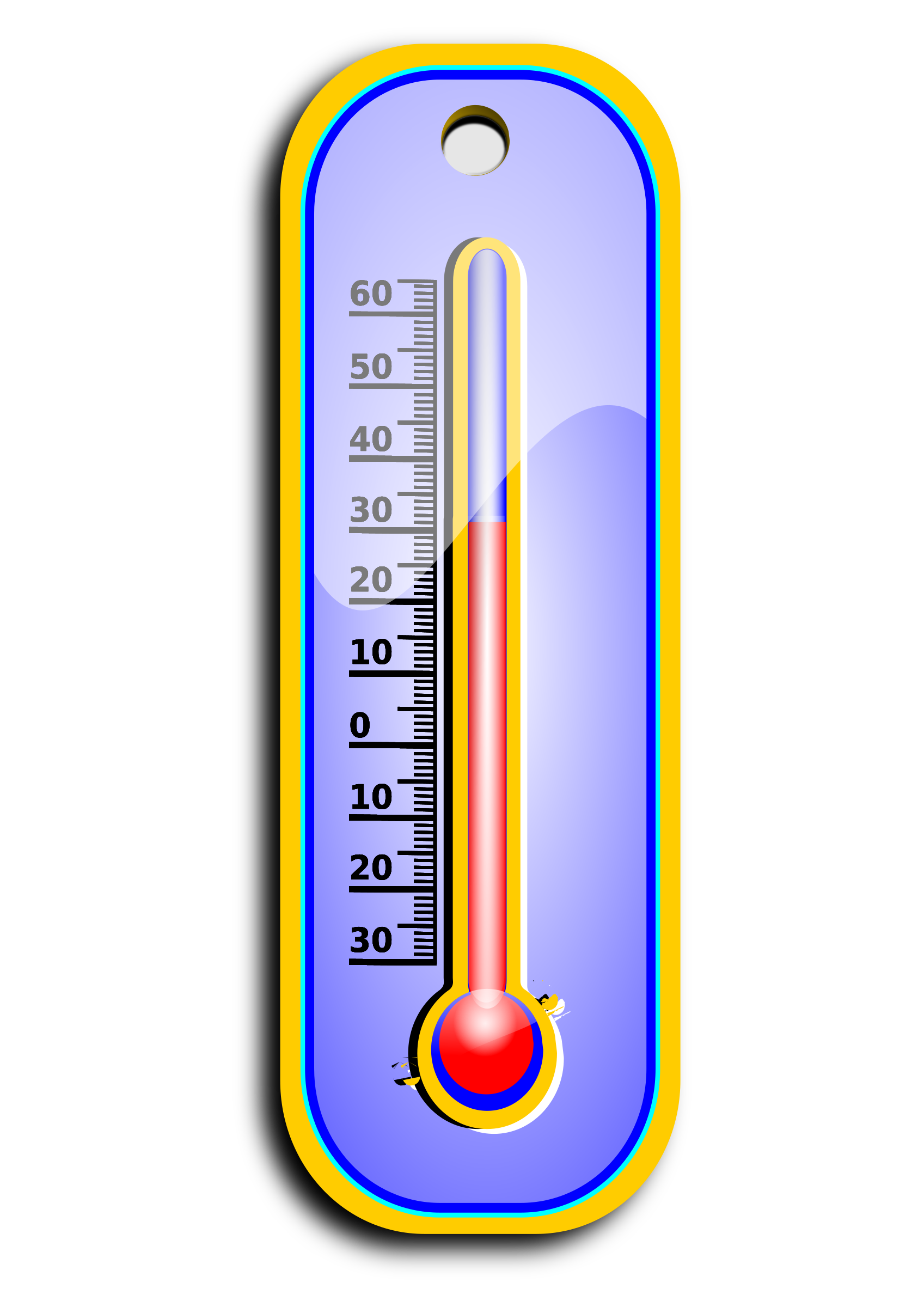 Thermometer clip cool. Clipart big image png