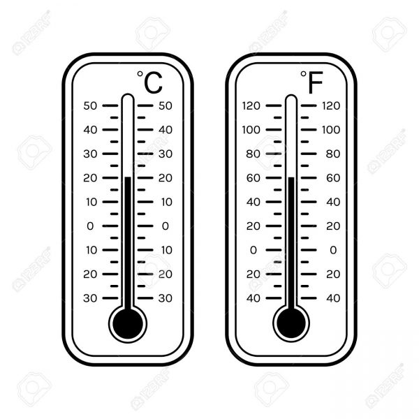 Thermometer clipart number. Black and white letters