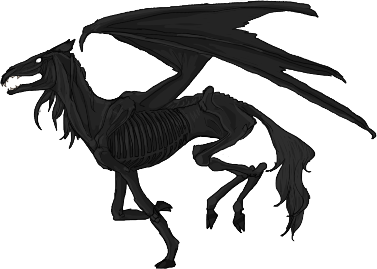 thestral drawing fawkes
