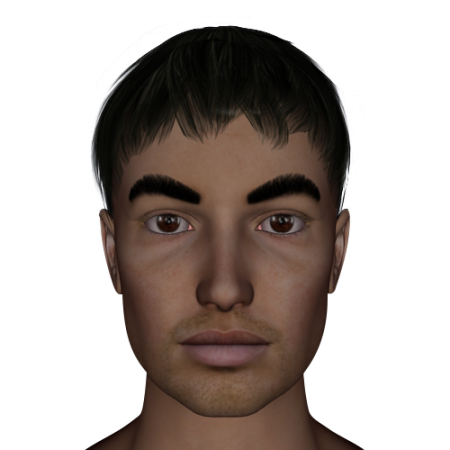 Thick eyebrows png. Meaning learn chinese face