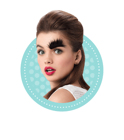 Thick eyebrows png. Bushy benefit cosmetics brow