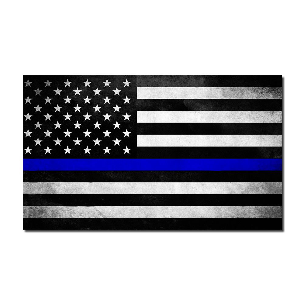 Thin blue line flag png. Decal lives matter store