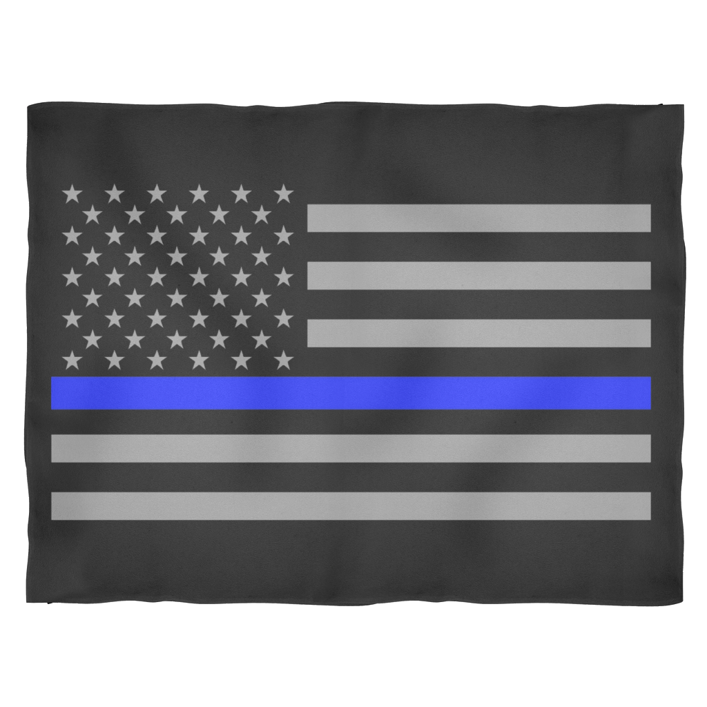 Thin blue line flag png. Police officer american fleece