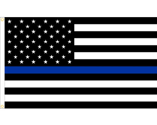 thin blue line flag png