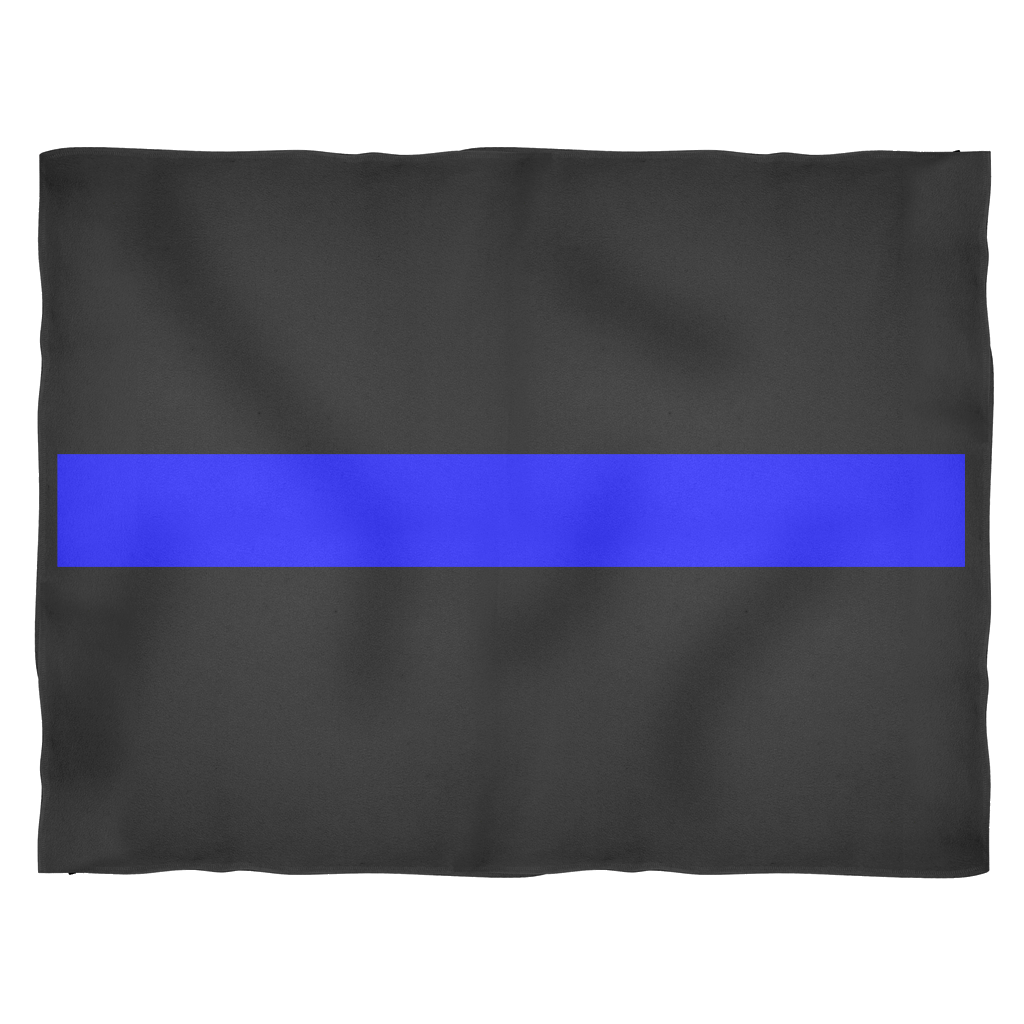 Thin blue line png. Blankets small medium large