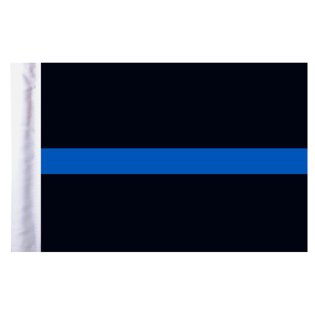 Thin blue line png. Motorcycle flag x