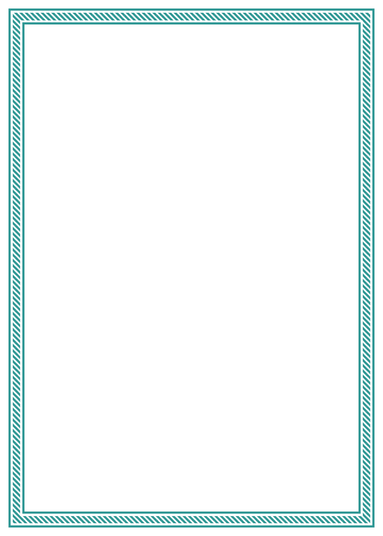 Thin border png. Green candy stripe free