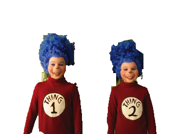 Thing 1 thing 2 png. Image and live action