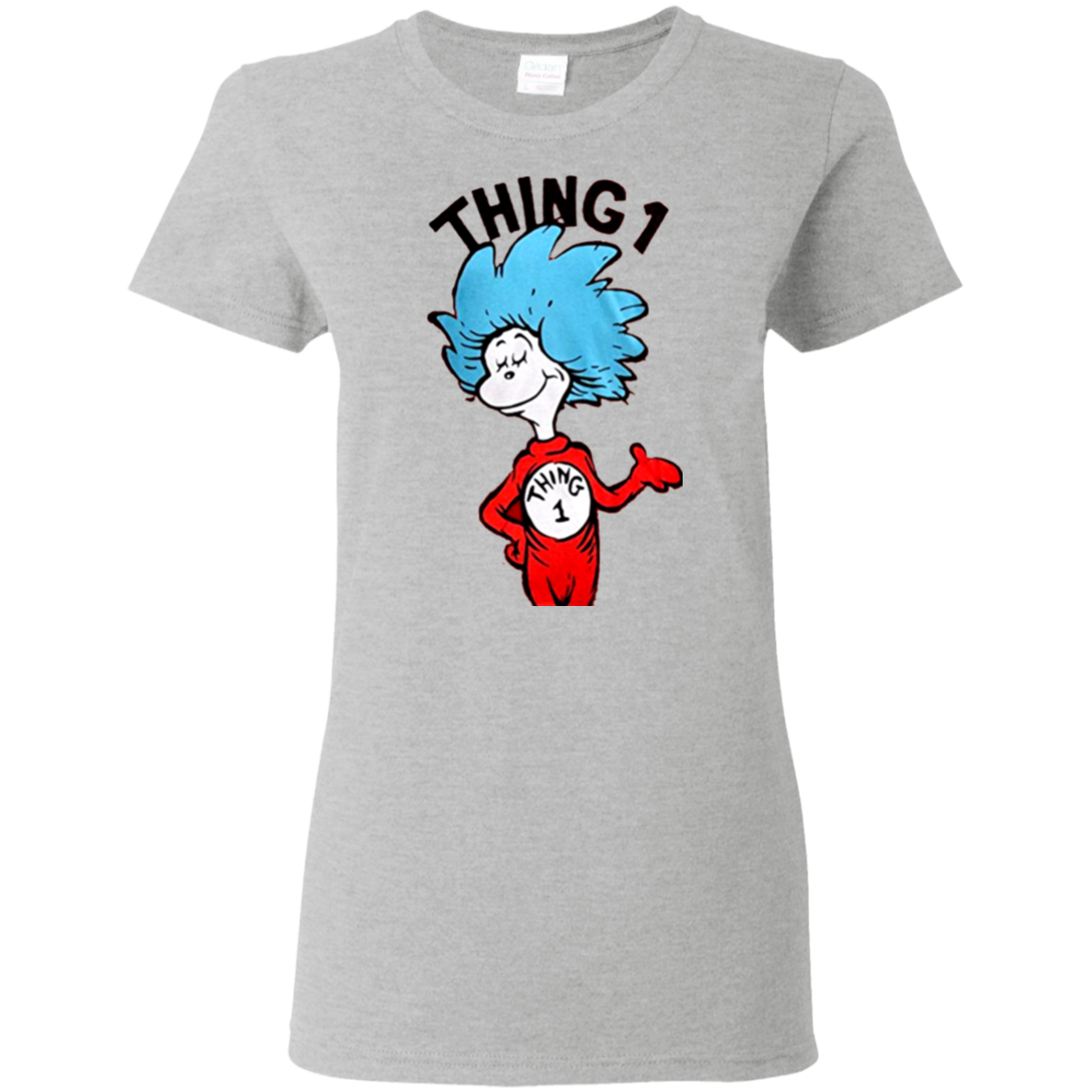 Thing 1 thing 2 png. Dr seuss or adult