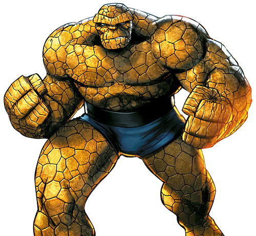 Thing fantastic 4 png. Download transparent hq image