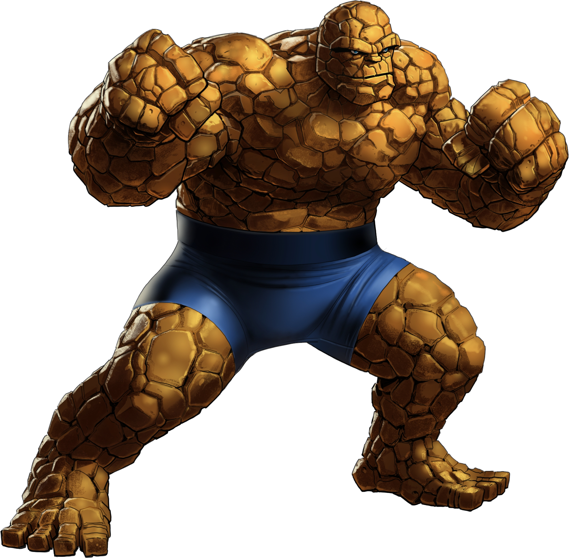 Thing fantastic 4 png. Benjamin jacob grimm animated