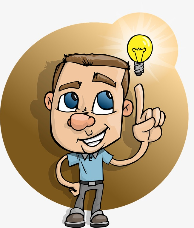 Think clipart. Thinking cartoon png image