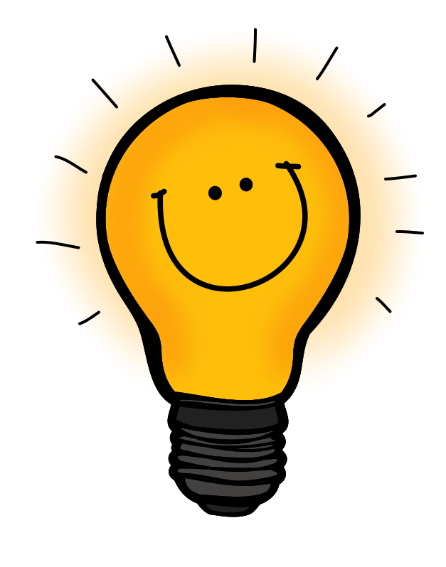 Thinking clipart lightbulb. Cliparts for free
