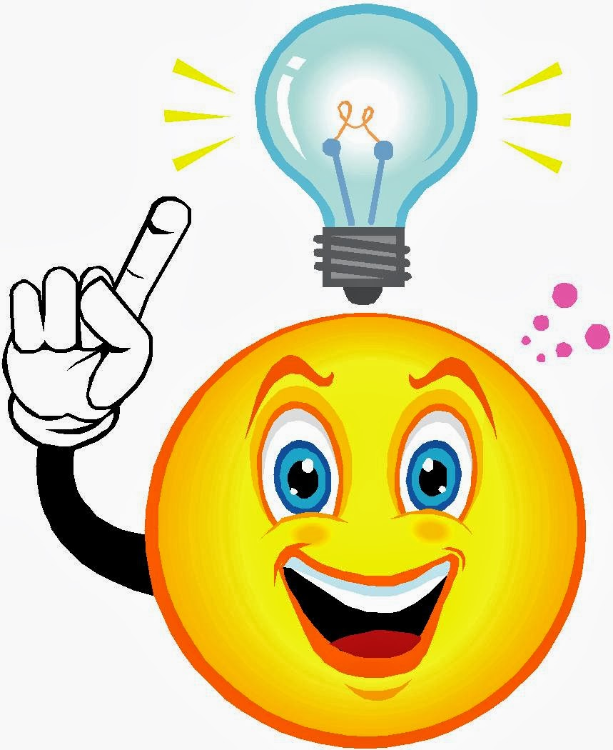 Think clipart lightbulb. Best person thinking