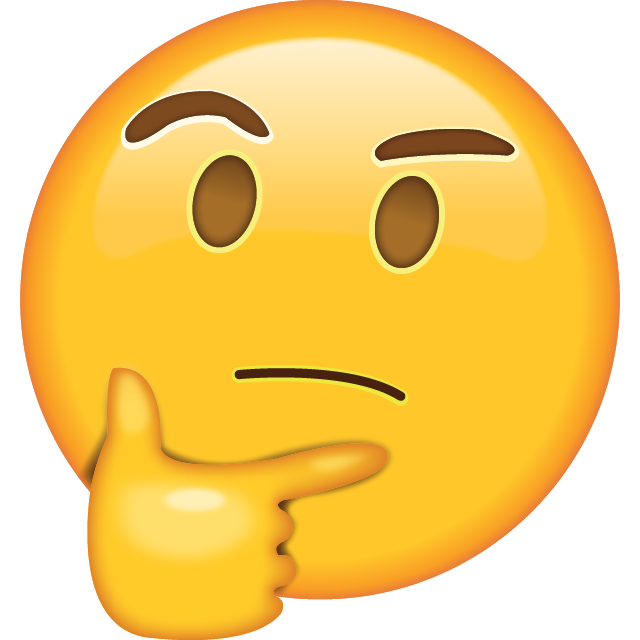 Think emoji png. Download thinking icon in
