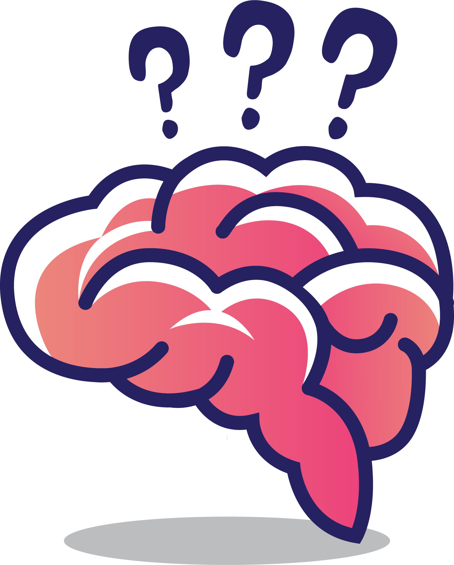 Thinking brain png. Human cerebrum clip art