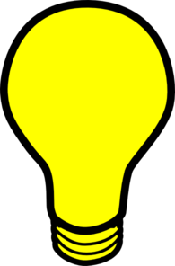 Thinking clipart lightbulb. Free bulb cliparts download