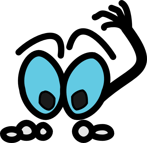 Thinking clipart png. Figure cyan blue clip