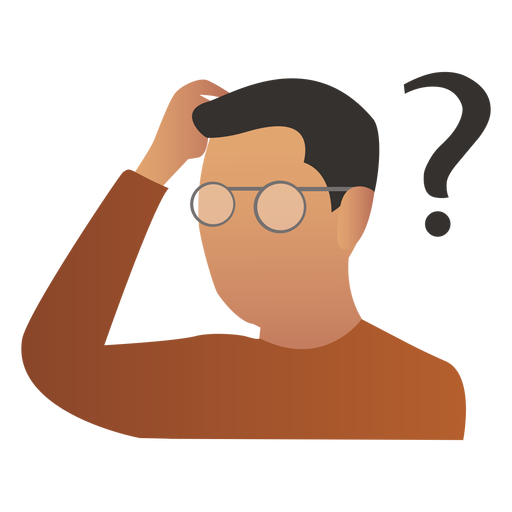 Thinking clipart png. Person image