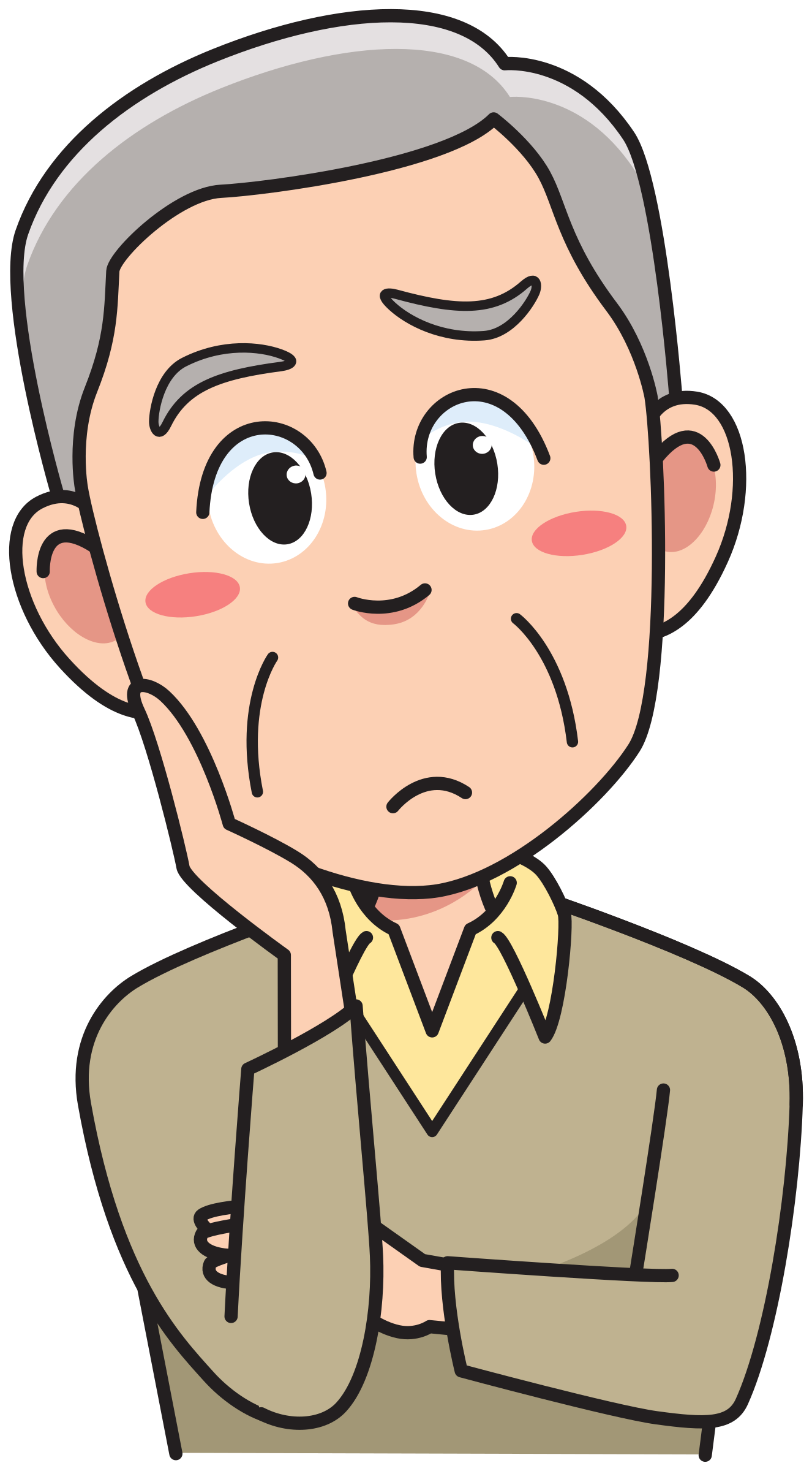 Thinking clipart png. Collection of person