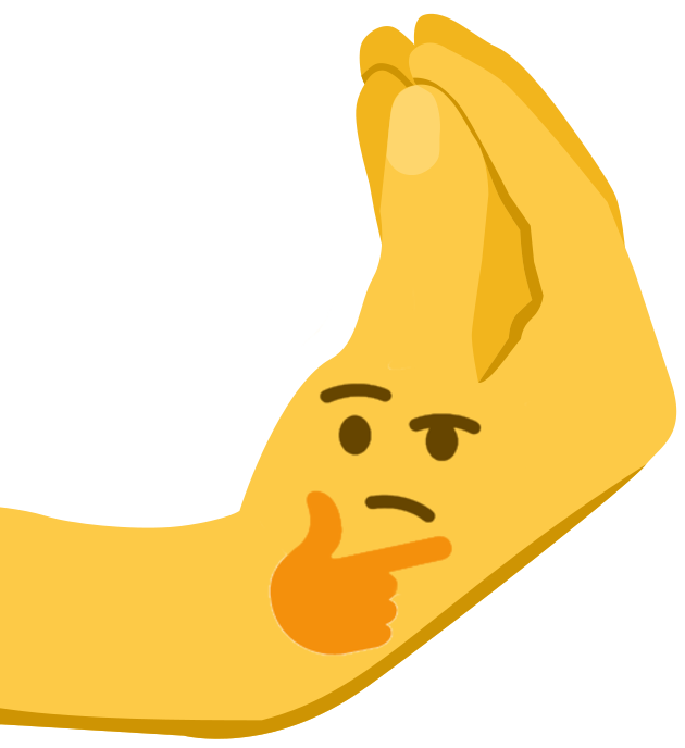 Thinking emoji hand png. How italians think face