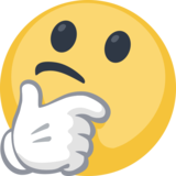 Emoji thinking png. Face on facebook