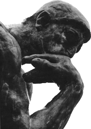 Thinking man statue png. The psd official psds