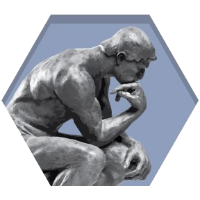 Thinking man statue png. Basic immunology in medicine